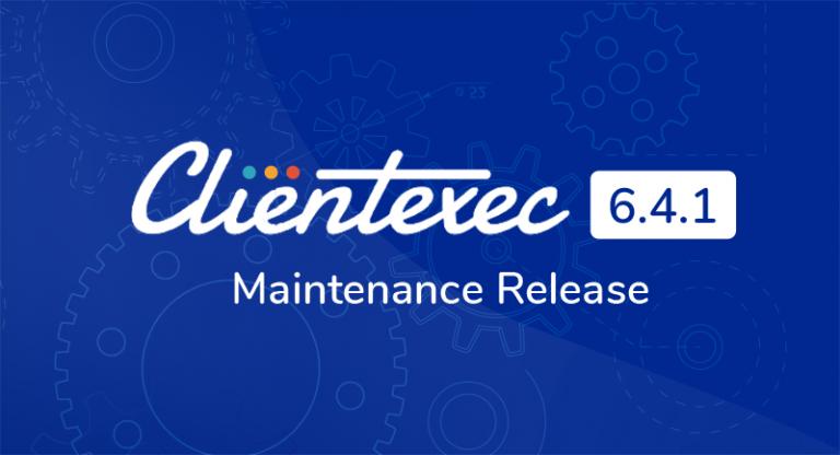 Clientexec 6.4.1 Maintenance Release