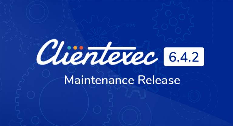 Clientexec 6.4.2 Maintenance Release